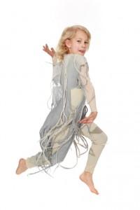 Jumpsuit mit Schleiernesselbehang