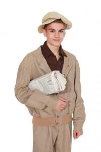 Blouson und Knickerbocker aus feiner Wolle mit Schlägerkappe