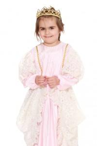 rosa Kleid mit Spitze Gr. 104