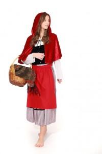 wunderschöner Trachtenrock mit roter Schürze Gr. 170