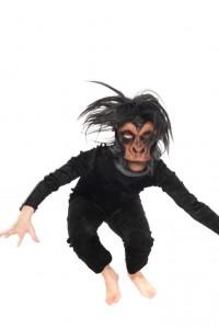 Pannéesamtanzug mit Affenmaske