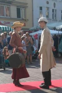 historische Modenschau 1915