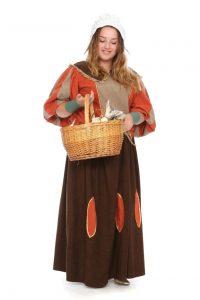 bürgerliche Mode aus dem Barock Gr. 44