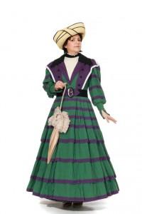 bürgerliches Kleid aus dem Biedermeier Gr. 42