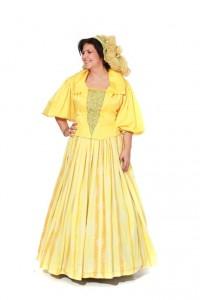 Kleid 16. Jh. Gr. 42