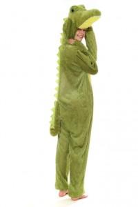 Krokodil Ganzkörperanzug in Gr. M