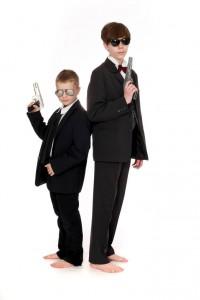 Anzüge für Kinder in verschiedene Ausführungen