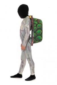 Jumpsuit in Gr. 156 mit Schildkrötenpanzer