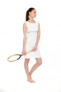 weißes Minikleid aus den 90er Jahren Gr. 34