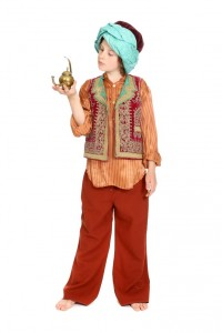Folkloreweste, Turban in verschiedenen Ausführungen vorhanden