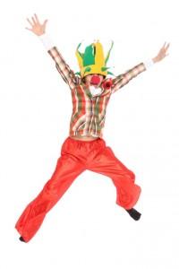 kariertes Clownsjackett