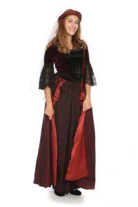 mittelalterlich anmutendes Kleid, 2 teilig Gr. 36