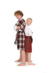 Kilts in Kindergrößen